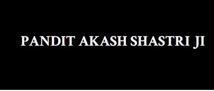 Pandit Akash Shastri Ji