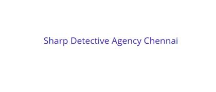 Sharp Detective Agency