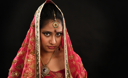 South Indian Bridal Make - Up